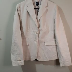 14 gap light light tan blazer